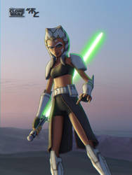 Jedi Commander Ahsoka Tano by Master-Cyrus