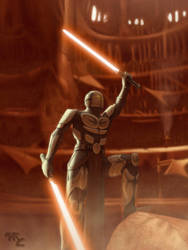 Demon the Champion of Geonosis by Master-Cyrus