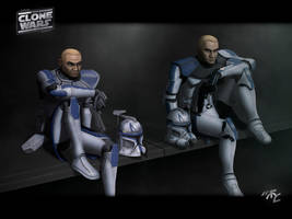 Captain Rex CC-7567 by Master-Cyrus
