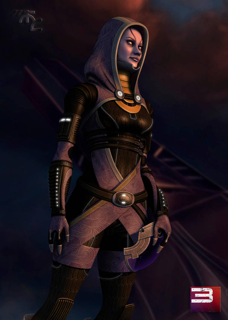 Tali on Rannoch by Master-Cyrus