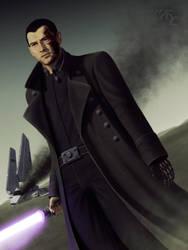 Dar'ren Saal - Jedi Cyborg by Master-Cyrus