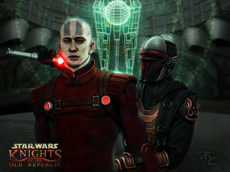 Revan vs Malak - He Took His Jaw by Master-Cyrus