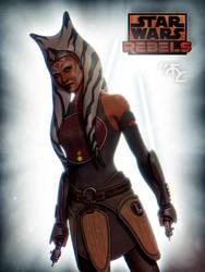 Ahsoka Tano - Rebels by Master-Cyrus