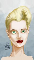 Blonde girl by Zappan