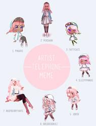 Telephone Meme by pikaxiu
