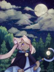 C: Aurora by pikaxiu