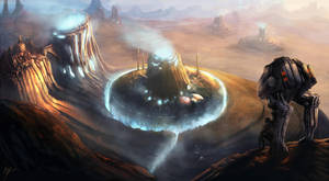 Homeworlds Cover Illustration by ramhak