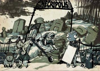 NECROPOLIS by ManuelKilger