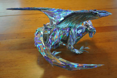 CD Shard Dragon by Amon-a-boat
