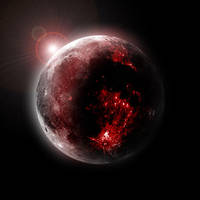 blood moon by Steph-Worrall