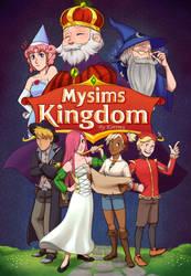 Mysims Kingdom the comic - Cover by Kattinx