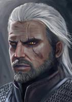 Geralt of Rivia by FeiHai