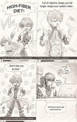 Yu-Gi-Oh Fiber Crack by BabakoSen