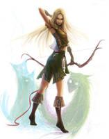 Elf girl by grayserg