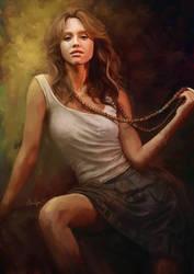 Jessica Alba by 3yen