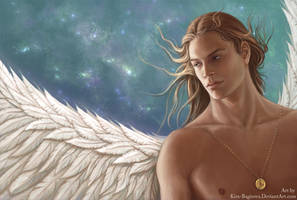 Angel from a dream by Kira-Bagirova