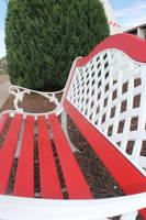 Red Bench by MalligatorHale
