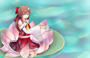 Touhou: Reimu by Kuro-Iku