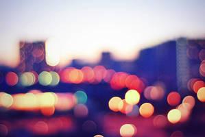 city of blinding lights by elalma