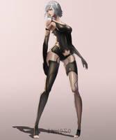 A2 Nier Automata by Inhos0