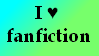 I love fanfiction Stamp by Poker---Face