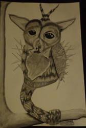 Fg. 5.3: Unknown Creature by goldenspider