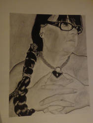 Self Portrait: Art 15 Final by goldenspider