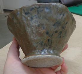 Ceramics 4: Pinch Pot 1 by goldenspider