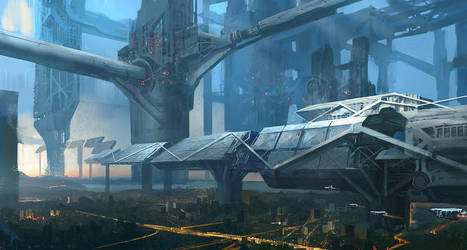 Space Station by jungpark