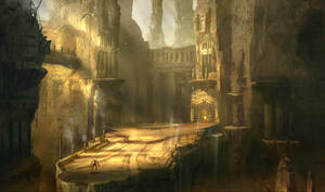 God of war III: Three judge by jungpark