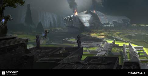 Titanfall2 Crashsite by jungpark