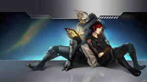 Good Night Shepard. by Wei723
