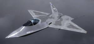 YF-23 Prototype 5 by agnott