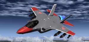F-35 Air Raid 1 by agnott