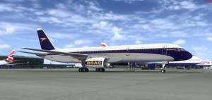 Boeing 757 BOAC 1 by agnott