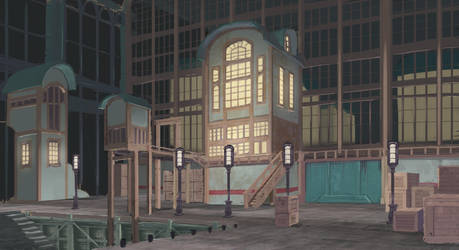 docking area by 40-Kun