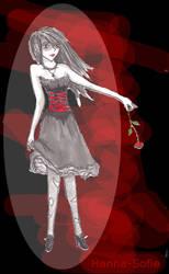 Bloody Vampire by Hannah-Sophie