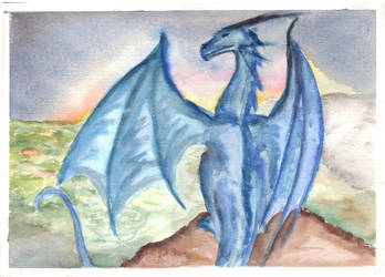 Iceland Dragon by Hannah-Sophie