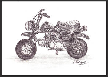 Honda Monkey by Hannah-Sophie