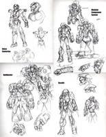 Armor Designs by Cruiser-X