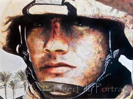 Marine-Desert Man Update by TanjaLouiseArtist