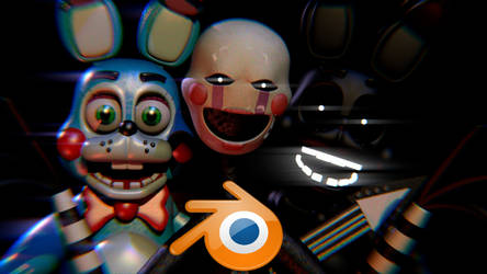 Toy Bonnie v7.5 and Puppet Blender Release! by Spinofan