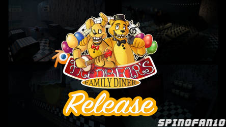 Fredbears Family Diner Map Pre-Release by Spinofan