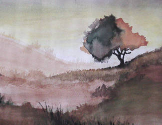 watercolor by loosey17