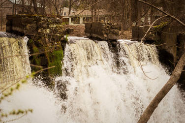 Waterfalls by duelmasterdestroyer