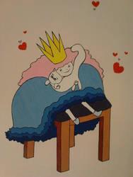 Cat Princess by FallingFrozen