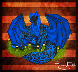 COM: BluetheIllusion by Rainbow-Foxy