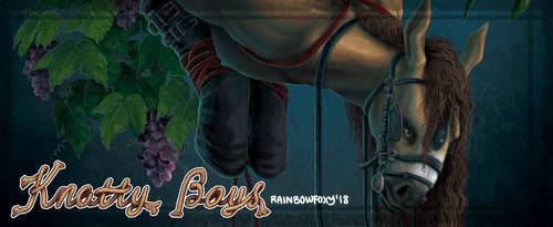 Knotty Boys: Horsing Around (TEASER) by Rainbow-Foxy