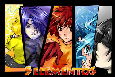 5 Elementos 2 by Aellis-Demon