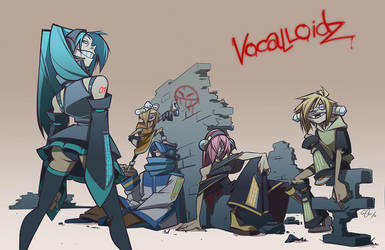 vocalloidz by chirart